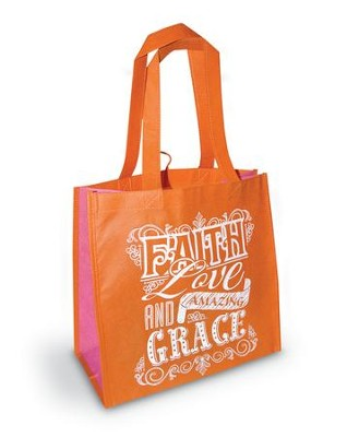 Faith, Love & Grace Eco Tote  -