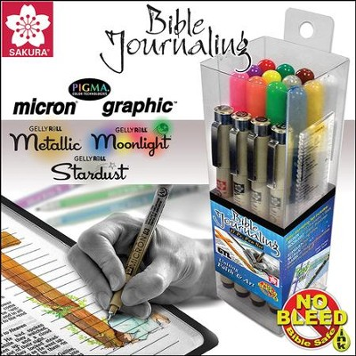 Micron/GellyRoll Bible Journaling Set, 17 items   -