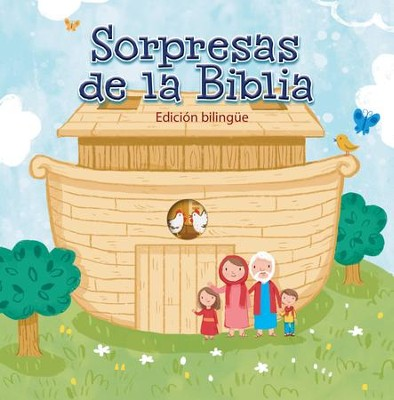 Sorpresas de la Biblia, Bilingual (Bible Surprises, Bilingual)  -     By: Lion Hudson