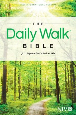 The Daily Walk Bible, NIV Softcover   -