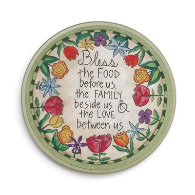 Table Prayer Lazy Susan   -