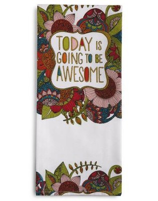 Awesome Tea Towel and Greeting Card  -