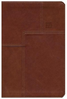 NLT Every Man's Bible Messenger Edition, Leatherlike  -     Edited By: Dean Merrill     By: Stephen Arterburn
