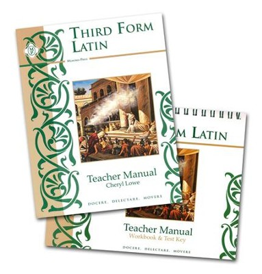 Third Form Latin, Teacher's Manual with Workbook and Test Key  -     By: Cheryl Rowe