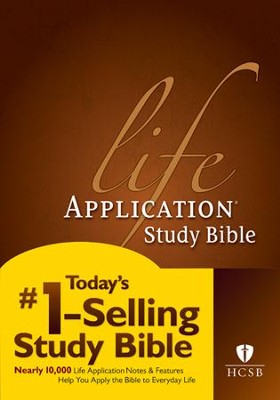 HCSB Life Application Study Bible 2nd Edition, Hardcover  -