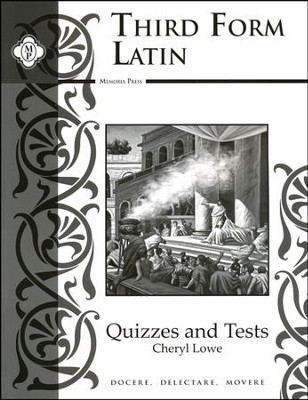 Third Form Latin, Quizzes and Tests  -     By: Cheryl Rowe