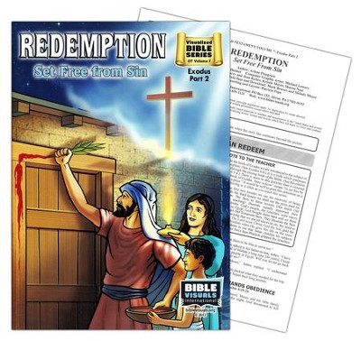 Redemption: Set Free from Sin (Exodus Part 2; Visualized  Bible Series)  -