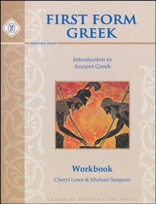 First Form Greek Student Workbook   -     By: Cheryl Lowe, Michael Simpson