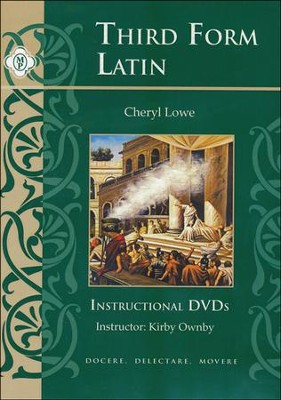 Third Form Latin, Instructional DVDs  -     By: Cheryl Rowe