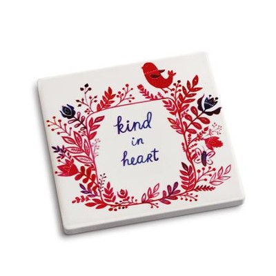 Kind in Heart Coaster and Greeting Card  -