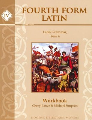 Fourth Form Latin Student Workbook  -     By: Cheryl Lowe, Michael Simpson