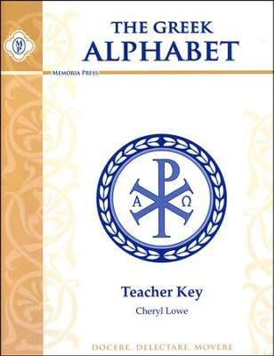 Greek Alphabet Book- Teacher Key  -     By: Cheryl Lowe