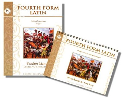 Fourth Form Latin Teacher's Manual with Workbook and Test  Key                     -     By: Cheryl Lowe, Michael Simpson