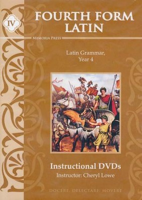 Fourth Form Latin Instructional DVDs  -     By: Cheryl Lowe, Michael Simpson