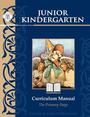 Jr. Kindergarten Curriculum Manual   -