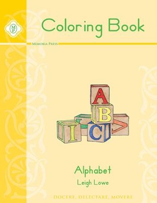 Alphabet Coloring Book   -