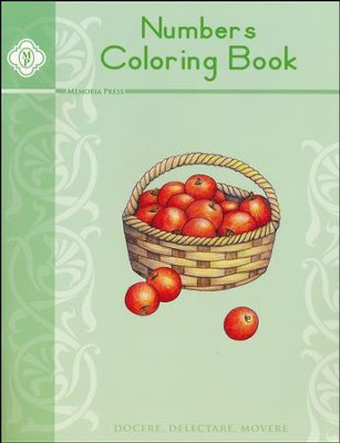Numbers Coloring Book   -