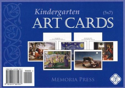 Kindergarten Art Cards   -