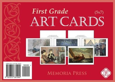 First Grade Art Cards   -