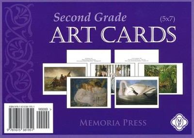 Second Grade Art Cards   -