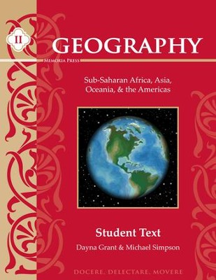 Geography II: Sub-Saharan Africa, Asia, Oceania & the  Americas Textbook   -     By: Dayna Grant, Michael Simpson