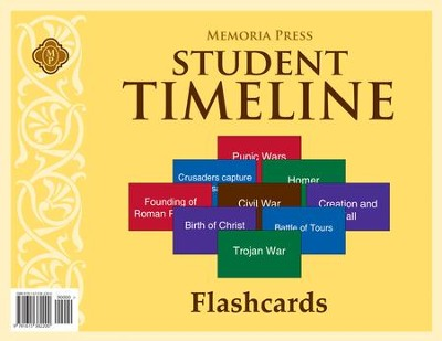 Timeline Student Flashcards   -