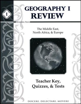 Geography 1 Review: Teacher Key, Quizzes, & Tests   -