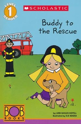 BOB Books: Buddy to the Rescue (Level 1)  -     By: Lynn Maslen Kertell     Illustrated By: Sue Hendra