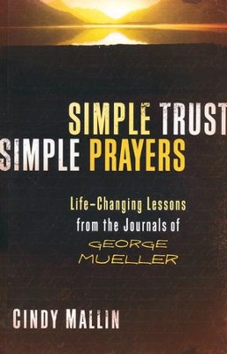 Simple Trust, Simple Prayers  -     By: Cindy Mallin