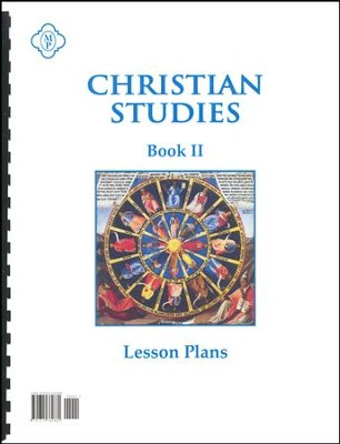 Christian Studies 2 Lesson Plans   -