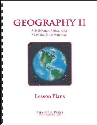Geography 2 Lesson Plans   -
