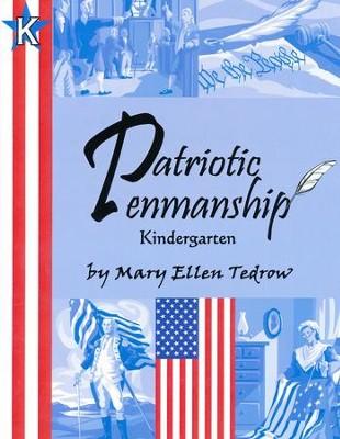 Patriotic Penmanship: Kindergarten  -