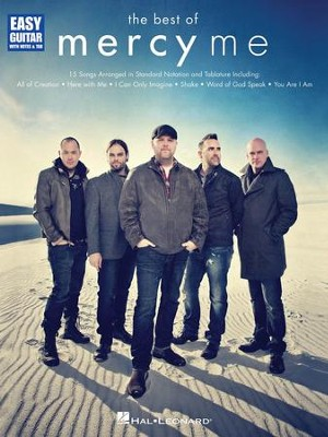 The Best of MercyMe: Easy Guitar with Notes & Tab   -     By: MercyMe