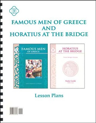 Famous Men of Greece and Horatius at the Bridge Lesson Plans  -