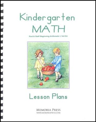 Kindergarten Math Lesson Plans (3rd Edition)   -