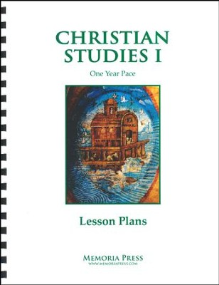 Christian Studies 1: 1 Year Pace Lesson Plans   -
