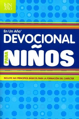 Devocional en un Año para Niños  (One Year Devotions for Kids #2)   -