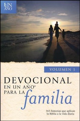 Devocional en un Año para la Familia Vol. 1  (One Year Family Devotions Vol. 1)  -