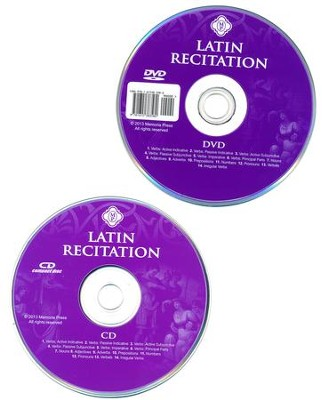 Latin Recitation CD/DVD Set  -     By: Cheryl Lowe