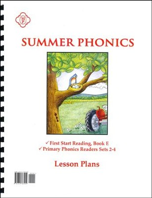 Summer Phonics Lesson Plans   -