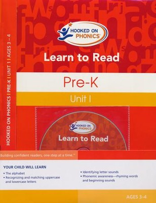 Learn to Read--Pre-K Level 1 Kit   -