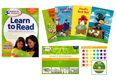 Hooked on Phonics Learn to Read - Level 5: Transitional Readers (First Grade | Ages 6-7)  -     By: Hooked on Phonics