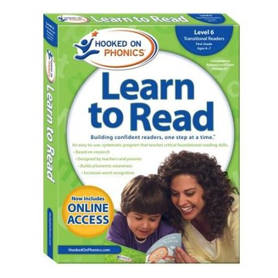 Hooked on Phonics Learn to Read - Level 6: Transitional Readers (First Grade | Ages 6-7)  -     By: Hooked on Phonics