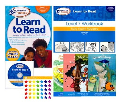 Hooked on Phonics Learn to Read - Level 7: Early Fluent Readers (Second Grade | Ages 7-8)  -     By: Hooked on Phonics