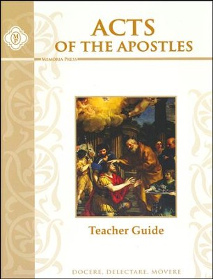 Acts of the Apostles Teacher's Guide   -