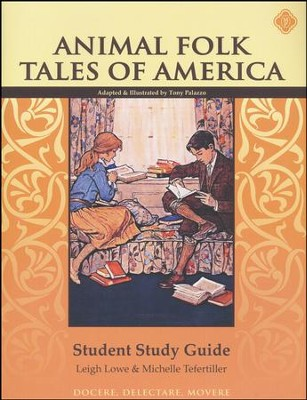 Animal Fold Tales of America Student Guide, Grade 2   -     By: Leigh Lowe, Michelle Tefertiller