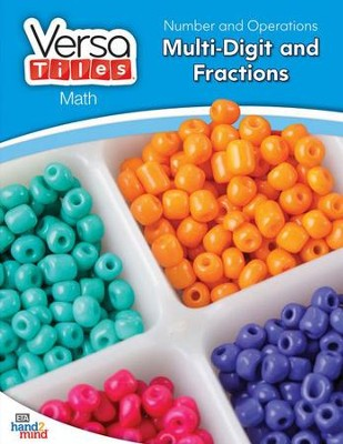 VersaTiles Math: Number and Operations Multi-Digit and Fractions (Grade 4)  -