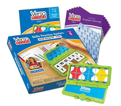 VersaTiles Math Small Group Kit, Grade 6   -