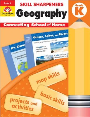 Skill Sharpeners: Geography, Grade K   -