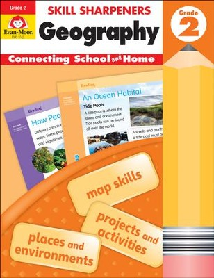 Skill Sharpeners: Geography, Grade 2   -